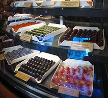 Chocolate counter by MarianBendeth