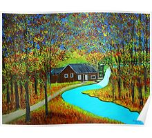 Autumn landscape 6 Poster