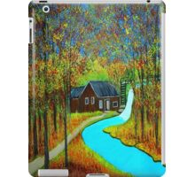 Autumn landscape 6 iPad Case/Skin