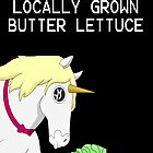 Locally Grown Butter Lettuce by AlatarTheBlue