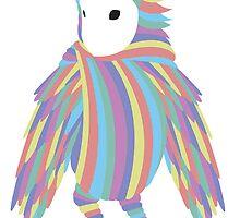 Rainbow Owl by DanAre