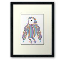 Rainbow Owl Framed Print