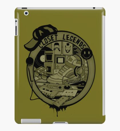 Closet Legends iPad Case/Skin