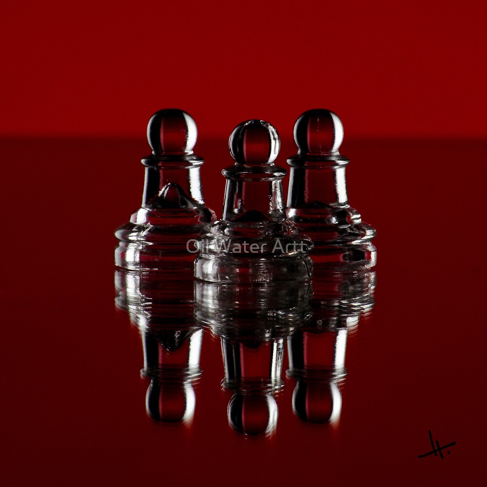 """""""we are all just pawns"""" by Oil Water Artt"""
