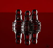 """we are all just pawns"" by Oil Water Artt"