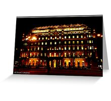 Office Building, Glasgow Greeting Card