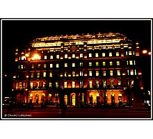Office Building, Glasgow Photographic Print