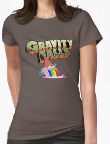 gravity falls gnome puke Womens Fitted T-Shirt