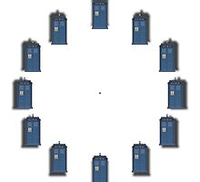 Dr. Who - Tardis - To realize a clock by Bastien13