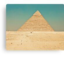 Pyramid of Giza Canvas Print