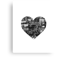 I Heart Pixar Canvas Print