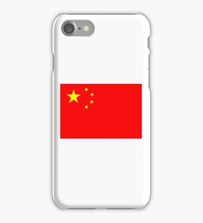 Flag of China iPhone Case/Skin