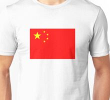 Flag of China Unisex T-Shirt