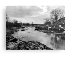 River and Rock Metal Print