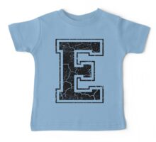 E - the Letter Baby Tee