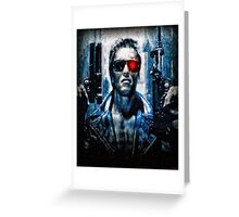 T-800 Terminator Greeting Card