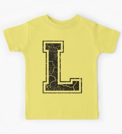 L - the Letter Kids Tee