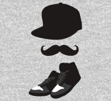 Snapback, Moustache, High Tops by ScottW93