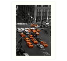 Taxi!!! Art Print