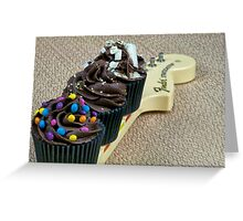 Chocolate heroes don't fret Greeting Card