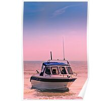 Leisure boat Poster