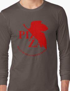 Pizzavangelion Team Shirt Long Sleeve T-Shirt