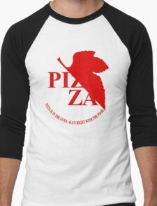 Pizzavangelion Team Shirt Men's Baseball ¾ T-Shirt