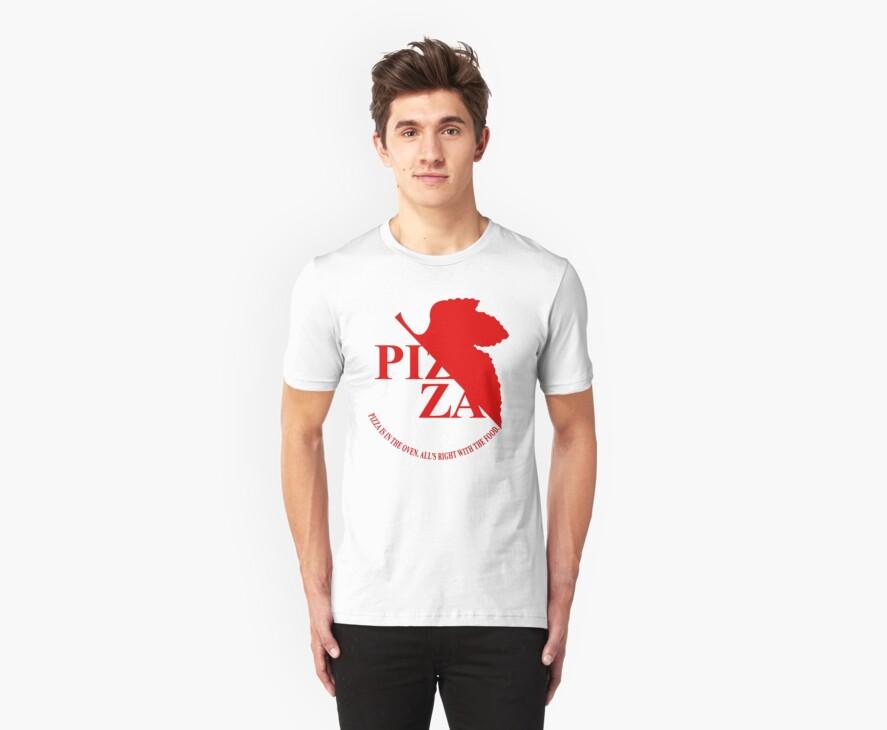 Pizzavangelion Team Shirt by BrianHoover156
