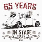 Bug 65 Years On Stage T-Shirt by MILK-Lover