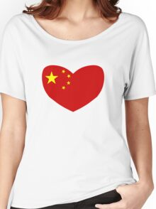 Love China Women's Relaxed Fit T-Shirt