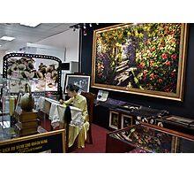 Vietnam. Ho Chi Minh City (Saigon). Silk Embroidery shop at the airport. Photographic Print