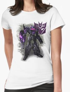 Transformers War For Cybertron - Decepticons: Shockwave Womens Fitted T-Shirt