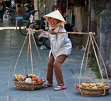 Vietnam. Hoi An. Street Vendor. by vadim19