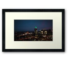 Bright Lights in the City Framed Print