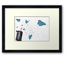 Peace Walker IA Framed Print