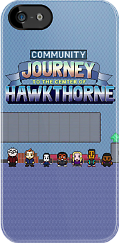Journey to the Center of Hawkthorne by grungeandglam
