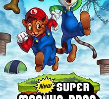 Super Meowio Brothers by WieldtheKey