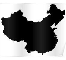 Map of China Poster
