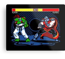 Sewer Fighter Metal Print