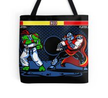 Sewer Fighter Tote Bag