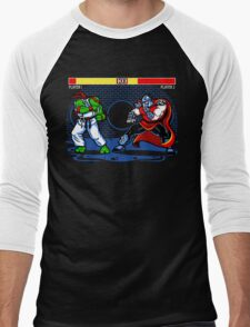 Sewer Fighter Men's Baseball ¾ T-Shirt