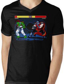 Sewer Fighter Mens V-Neck T-Shirt