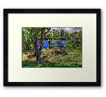 Once upon a time… Framed Print