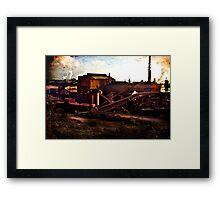 Whyalla Red Framed Print