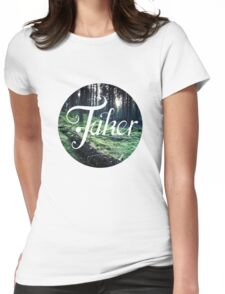 BlueFakerForest Womens Fitted T-Shirt