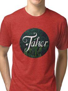 BlueFakerForest No3 Tri-blend T-Shirt