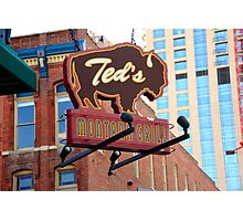 Denver - Ted's Montana Grill Photographic Print