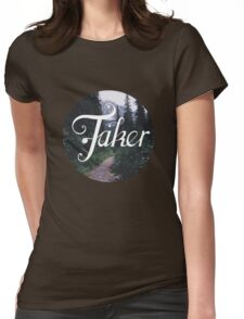 BlueFakerForest No4 Womens Fitted T-Shirt
