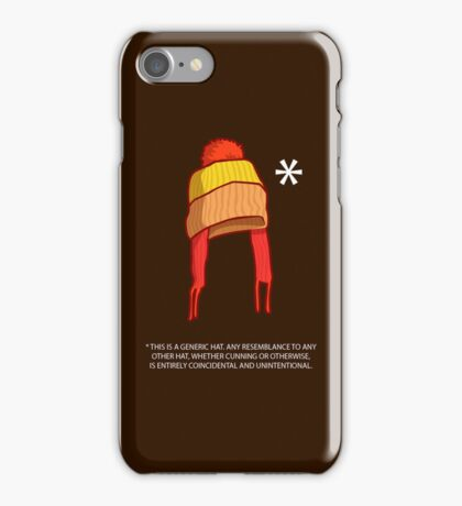 You Can't Take This Hat From Me iPhone Case/Skin