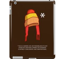 You Can't Take This Hat From Me iPad Case/Skin